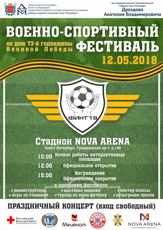 Военно-исторический фестиваль и ФИНТ 2018